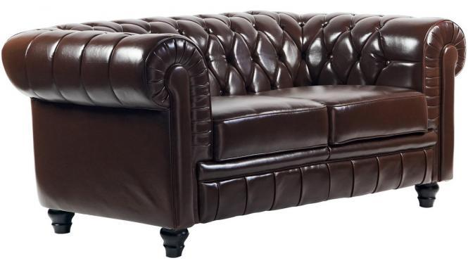 Divano Chesterfield Brown
